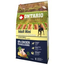 Ontario Adult Mini Chicken & Herbs 6,5 kg