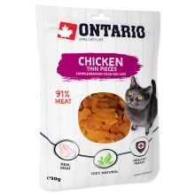 Ontario Cat Chicken Thin Pieces 50 g