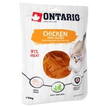 Ontario Cat Mini Chicken Slices 50 g