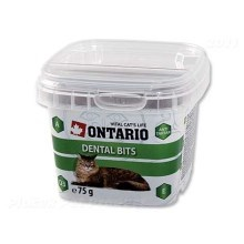 Ontario Cat Snack Dental Bits 75 g