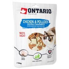 Ontario Chicken and Pollock Double Sandwich 50 g