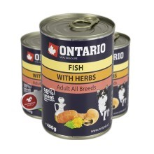 Ontario konzerva mini multi fish and salmon oil 400 g