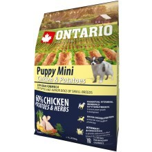 Ontario Puppy Mini Chicken & Herbs 2,25 kg
