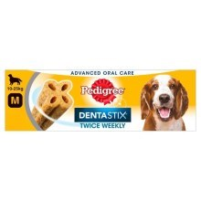 Pedigree Denta Stix Twice Weekly Medium 80 g