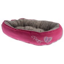 Pelíšek Rogz Cat Snug Candy Stripes M 56 cm VÝPRODEJ