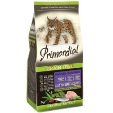 Primordial Cat Sterilizzato Turkey & Herring 2 kg