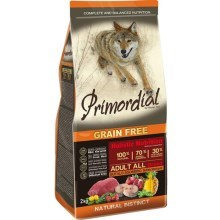 Primordial Dog Adult Bufallo & Mackerel 2 kg