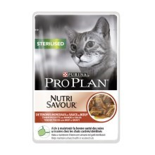 Pro Plan Cat Sterilised Beef kapsička 85 g