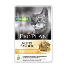 Pro Plan Cat Sterilised Chicken kapsička 85 g
