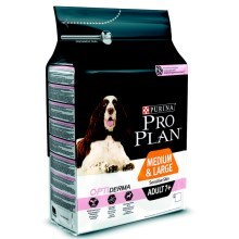 Pro Plan Medium & Large Adult 7+ OptiDerma 3 kg