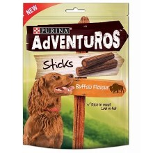 Purina Adventuros Sticks s bizoní příchutí 120 g