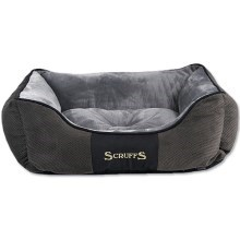 Scruffs Chester Box Bed M 60x50cm šedý