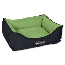 Scruffs Expedition Box Bed M 60x50cm limetkový