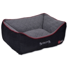 Scruffs Thermal Box Bed L 75x60cm černý