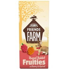 Supreme Tiny FARM Snack Russel Fruitees - králík 120 g