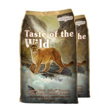 Taste of the Wild Canyon River Feline Duo Pack 2x7kg
