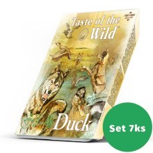 Taste of the Wild Multipack Duck & Chicken Dog Tray 7x 390 g