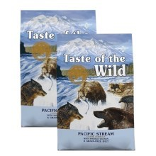 Taste of the Wild Pacific Stream Canine Duo Pack 2x 12,2 kg