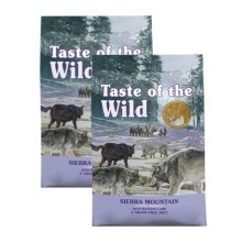 Taste of the Wild Sierra Mountain Canine Duo Pack 2x 12,2 kg