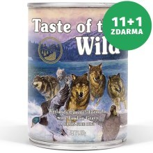 Taste of the Wild Wetlands konzerva 390 g 11+1 ZDARMA