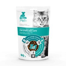 The Pet+ Cat Sterilised Treat 80 g