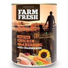 Topstein Farm Fresh Chicken with Herring, Cranberry 400 g