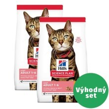 Výhodný set 2 x Hill's Feline Adult Light Chicken 1,5 kg