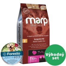 Výhodný set Marp Holistic Turkey SAN Grain Free 12 kg + Foresto 70
