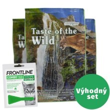 Výhodný set Taste of the Wild Rocky Mountain Feline 2 kg+Frontline Combo