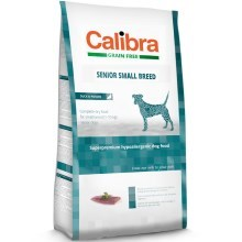 Vzoreček Calibra Dog GF Senior Small Breed Duck 80 g