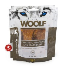 Woolf Chicken, Pumpkin & Oats Bone 100 g