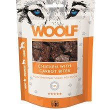 Woolf Chicken with Carrot Bites 100 g