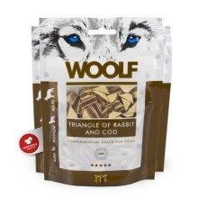 Woolf Rabbit & Cod Triangle 100 g