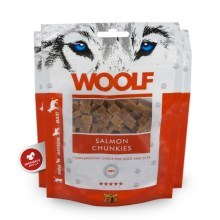 Woolf Salmon Chunkies 100 g