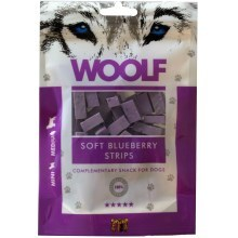 Woolf Soft Blueberry Strips 100 g