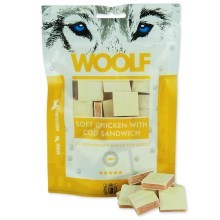 Woolf Soft Chicken with Cod Sandwich 100 g