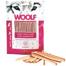 Woolf Soft Duck & Pollock Sandwich Long 100 g
