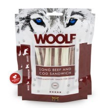 Woolf Soft Long Beef & Cod Sandwich 100 g