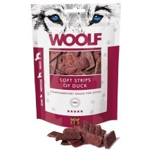 Woolf Soft Strips of Duck 100 g